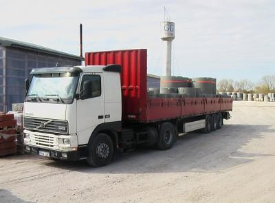 Gaminių transportavimo paslaugos