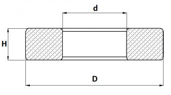 Požeminės sklendės atraminis elementas
