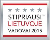 Stipriausi Lietuvoje vadovai 2015