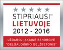 Stipriausi Lietuvoje 2012-2016